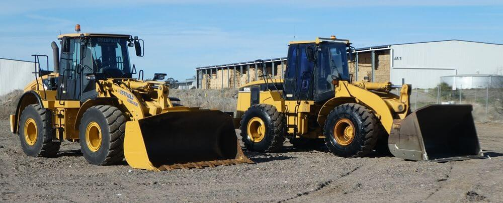 MJM Plant Hire - Cat 950G Loader + Cat 950H Loader